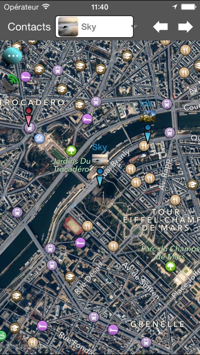 download Localisation et messagerie sur téléphone portable apps 2