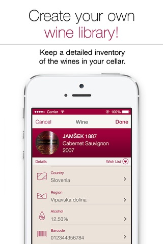 Wine Notes - Rate, Track and Share Your Wine screenshot 3