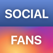 Social Fans: reports and analytics
