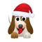 download Dog Christmas stickers