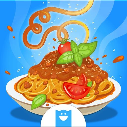 スパゲティメーカー - 子供向けイタリアンパスタ料理ゲーム (No Ads)