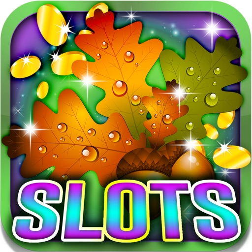Super Leaf Slots: Play games in a colorful autumn iOS App