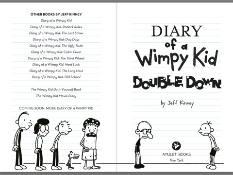 all diary of a wimpy kid books for free