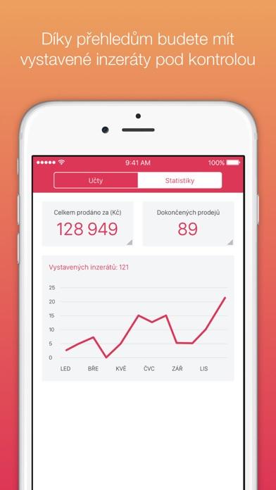 Snímek obrazovky iPhonu 4