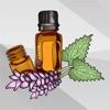 Huile Essentielle et Aromathérapie Autocollants