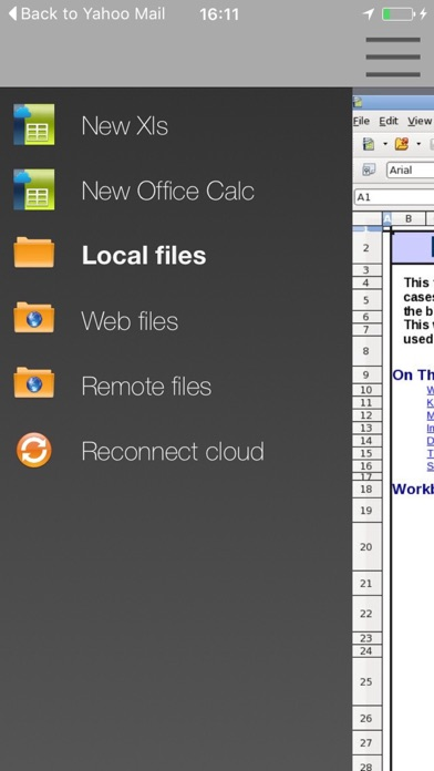 Screenshot von XOffice Xls Office-Suite - Open Office Xls Fern4