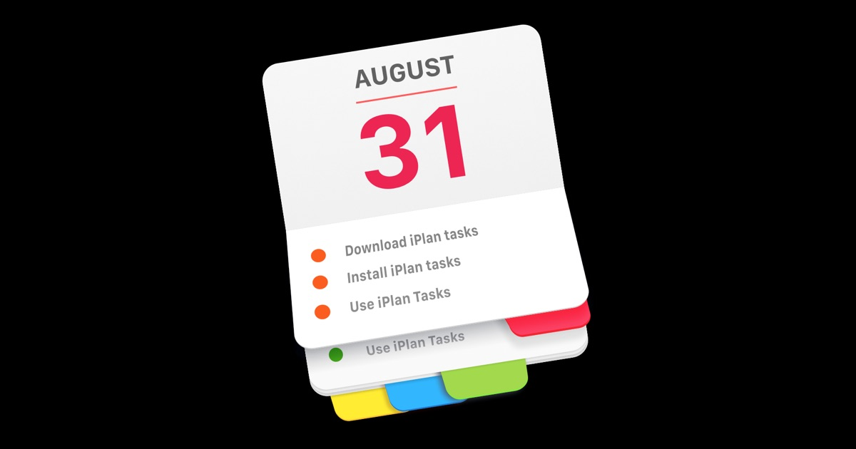 Plan Your Tasks To Do List Manager On The Mac App Store