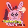 Crazy Bunny Coloring Book for Kids