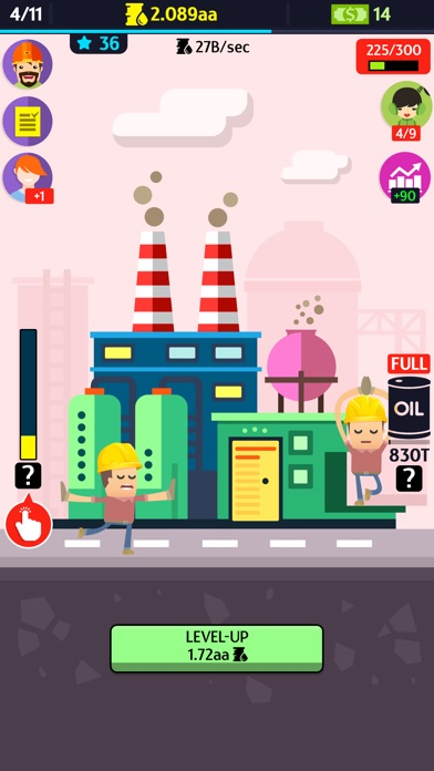 Oil, Inc. - Idle Clicker Tycoon Game Screenshot