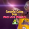 Cheats for NBA Live Mobile - Pro Cheats free live mobile tracker