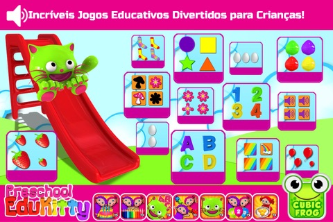Toddler Educational Learning Games-EduKitty Free screenshot 1