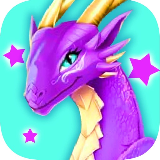 Dragon Queen-Beauty Pet Makeup Games iOS App