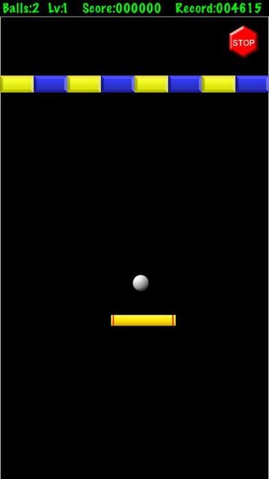 懐かしのブロック崩しのスクリーンショット1