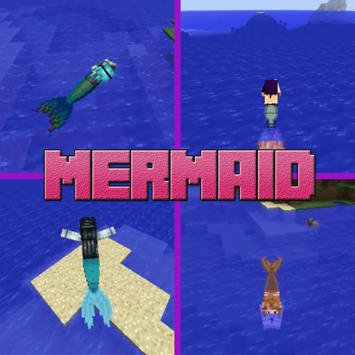 Mermaid Mod Free - Pixel Mermaid World Mods for Minecraft Game PC Edition iOS App