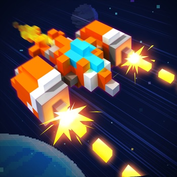 Pixel Craft - Space Shooter app for iphone