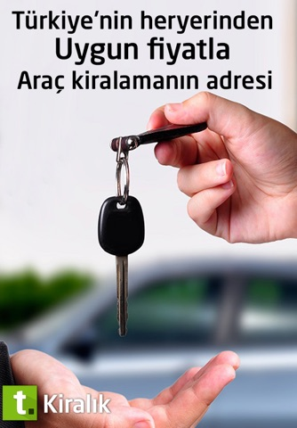Rent A Car, Araç Kiralama by Tasit.com screenshot 1