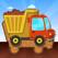 子供の自動車、トラック、建設車両 – 幼児向けパズル