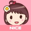 Yolk Girl - Cute Stickers by NICE Sticker