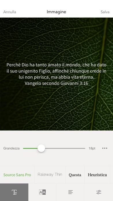Favori Bibbia sull'App Store HW27