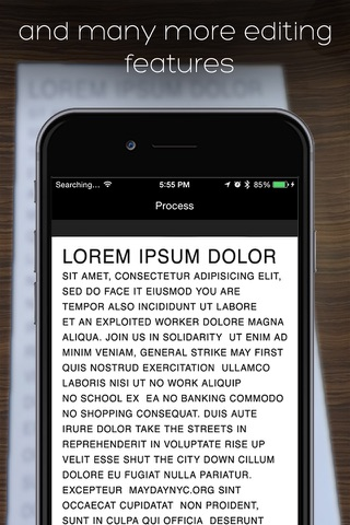 iScan Pro OCR Scanner For Docs screenshot 4
