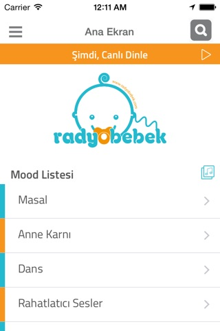 Radio Baby screenshot 2