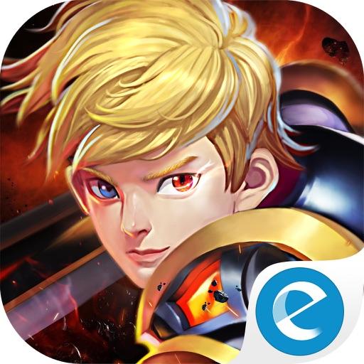 Knights Saga:Be the king of Corss-server Battle! iOS App