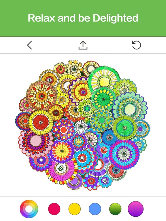 ipad screenshot 5 - Coloring Book App For Adults