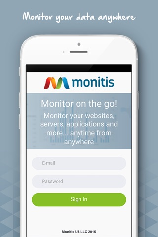 Monitis – Web, Server and Network Monitoring screenshot 1