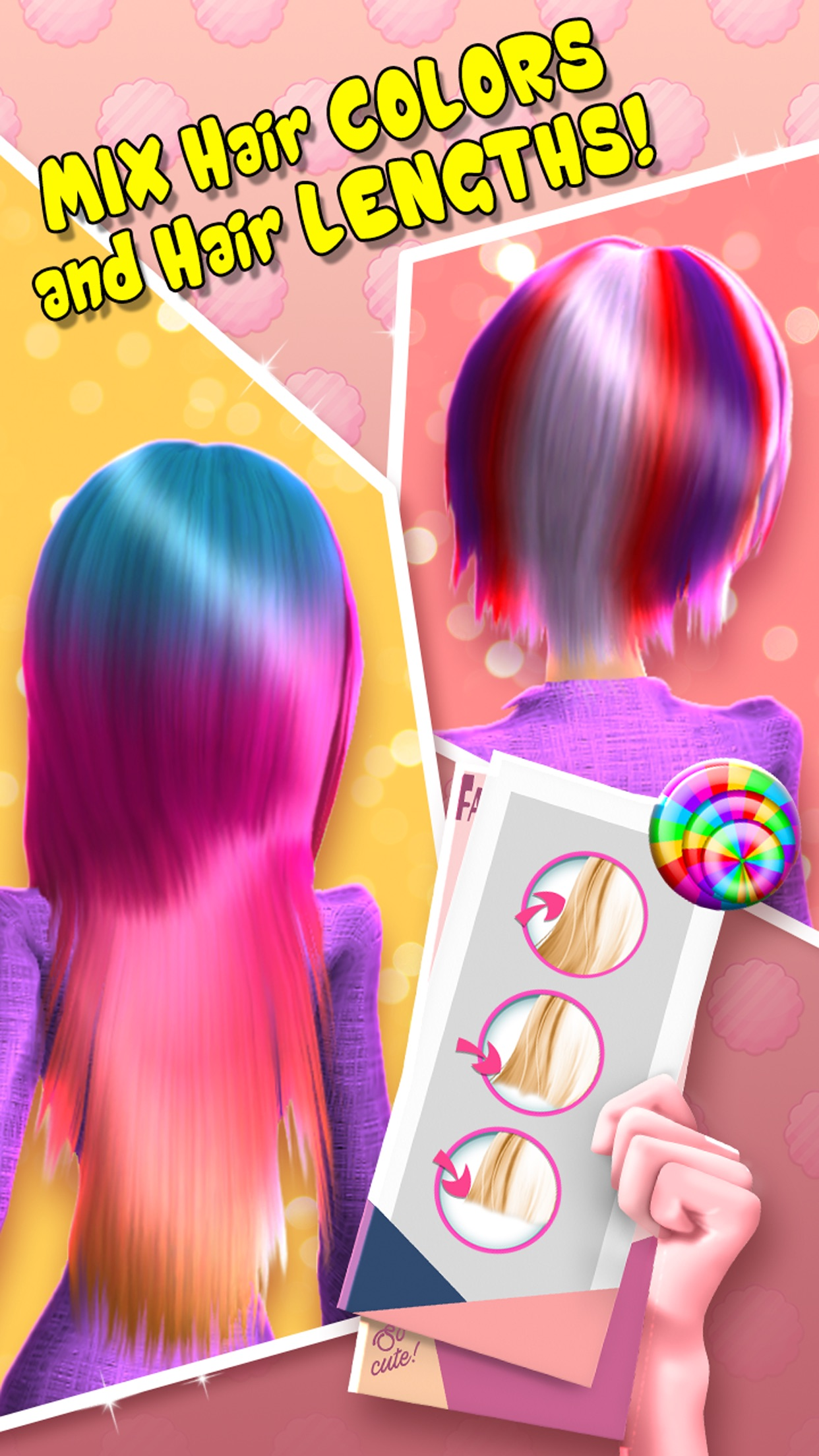 Играть в причёски для девочек