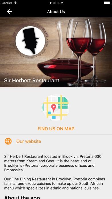 Sir Herbert Restaurant On The App Store - Ethnic restaurants in the us map