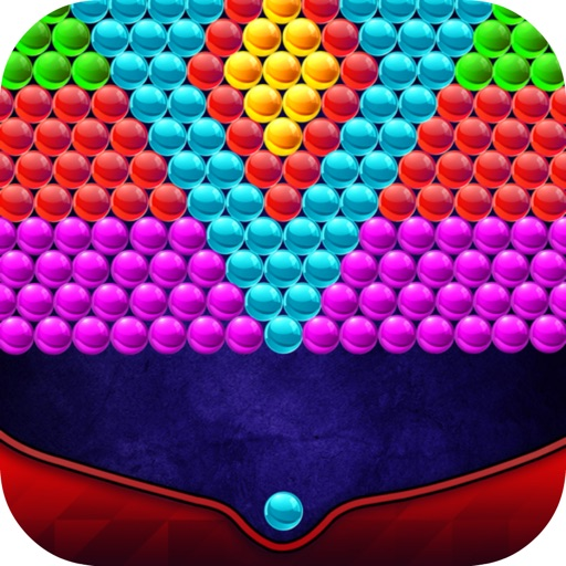 Bubble Shooter Retro For Newyear Game iOS App