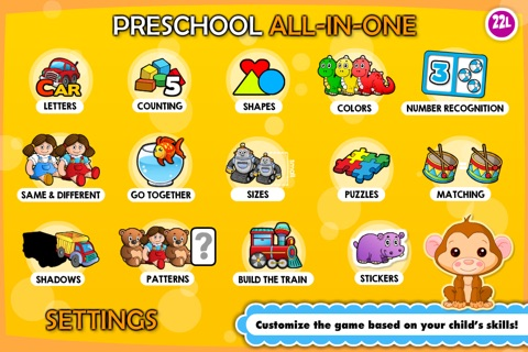 Preschool! & Toddler kids learning Abby Games free screenshot 3