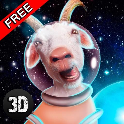 Crazy Space Goat Simulator 3D iOS App