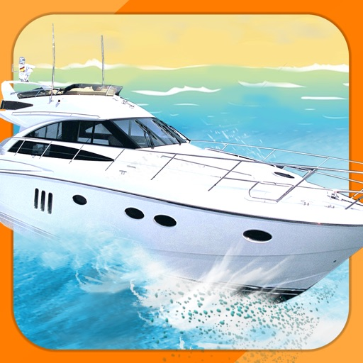 Ace 3D Boat Parking Speedboat Driving Simulator iOS App