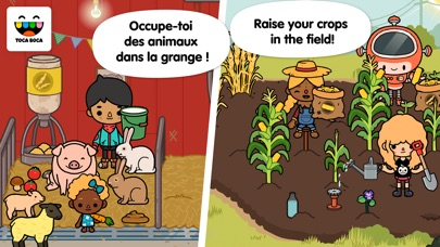 Screenshot #1 pour Toca Life: Farm