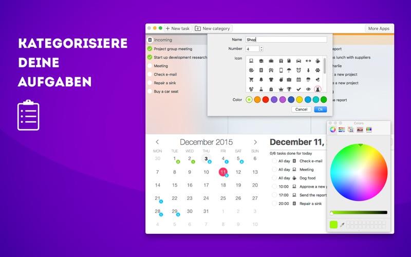 Plan Your Tasks - Aufgabenliste Screenshot