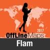 Flam Оффлайн Карта и