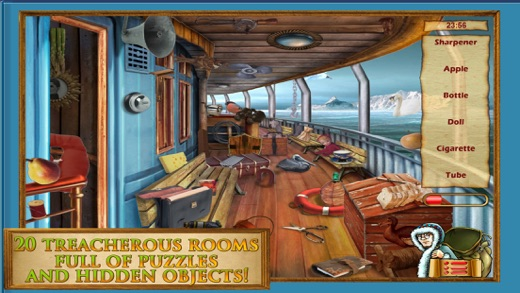 Hidden Object: Victoria & Steve Vikings Adventures Screenshot