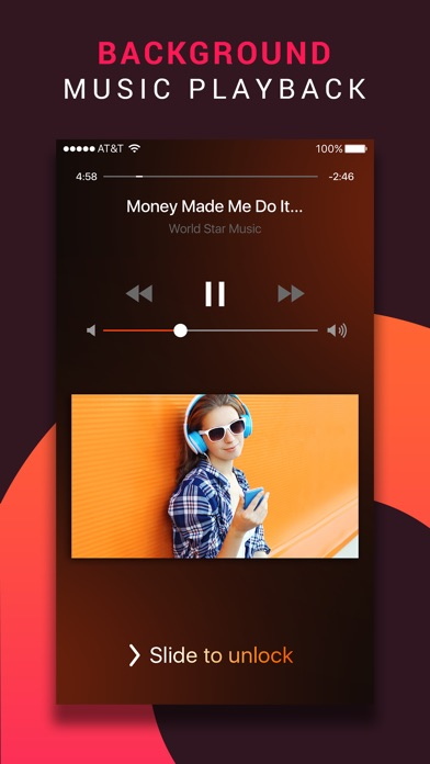 Muzaqi best music player for soundcloud on the app store iphone screenshot 2 ccuart Image collections