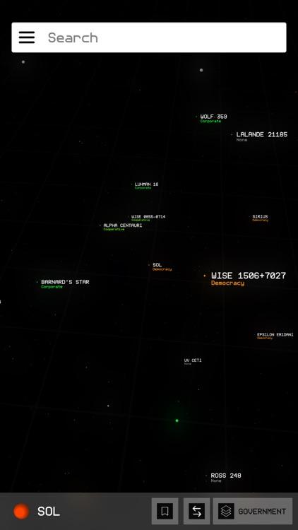 Elite Dangerous Galaxy Map By Alex Parker