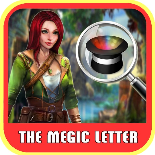 Free Hidden Objects:The Magic Letter Hidden Object iOS App