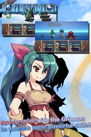RPG Bonds of the Skies screenshot 3
