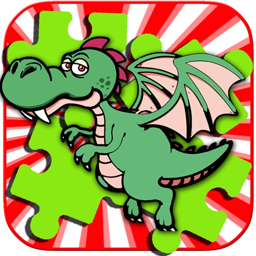 My Little Dragon And Friend Jigsaw Puzzle For Kids iOS App