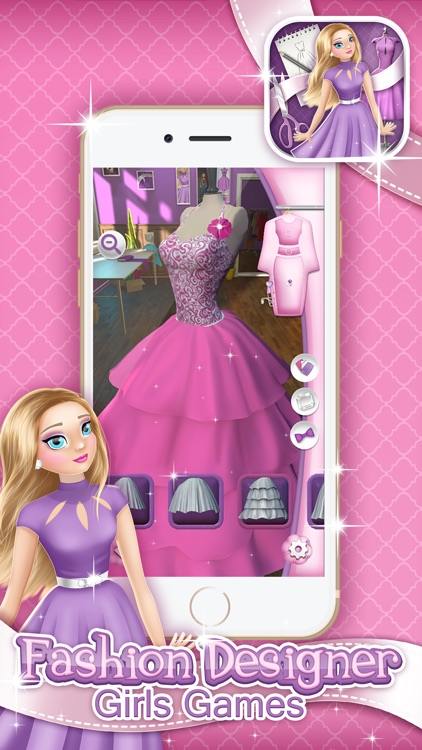 Fashion Designer Girls Game Make Your Own Clothes By Dimitrije Petkovic