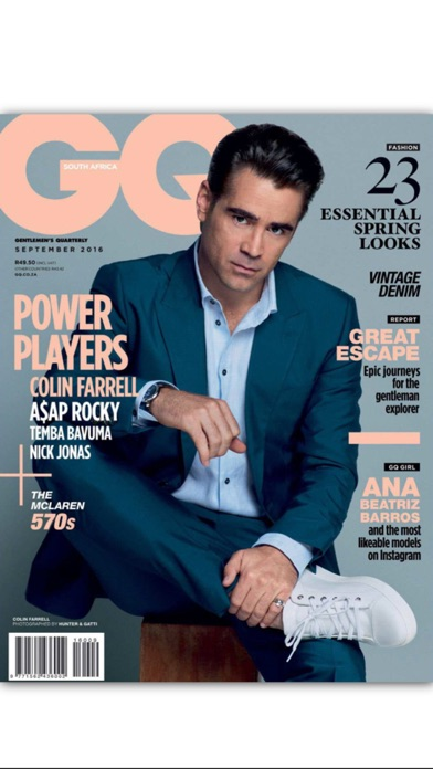 download GQ magazine South Africa apps 0