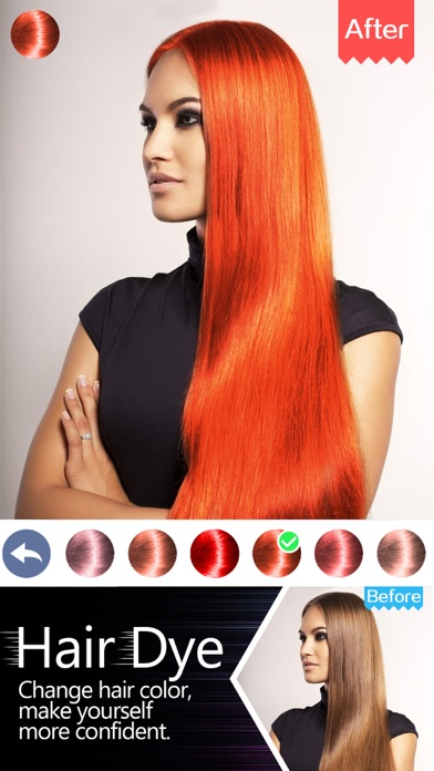Hair Dye-Wig Color Changer,Splash Filters Effects on the App Store