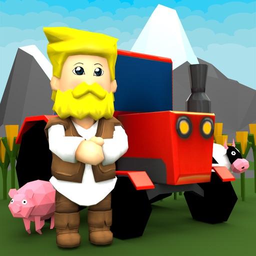 Old Macdonald had a farm: 3D Kids Nursery Rhyme iOS App