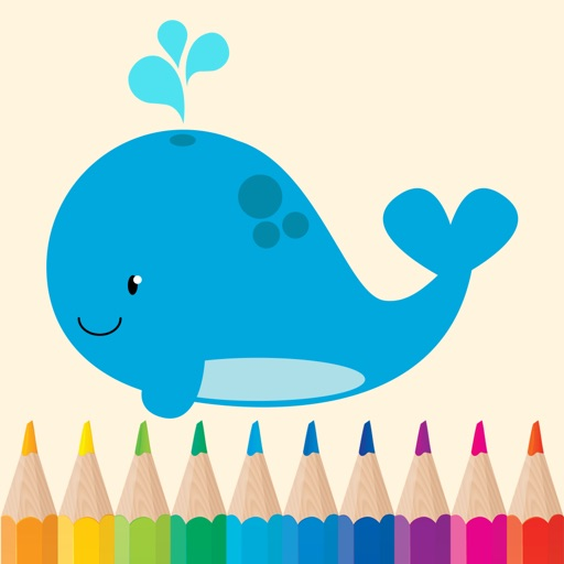Sea Animals Coloring Pages for Preschool and Kindergarten HD Free