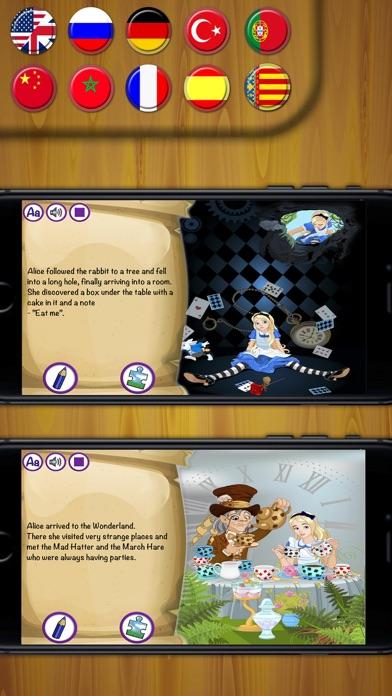 Alice in Wonderland contes classiques de livresCapture d'écran de 1