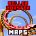 Roller Coasters in MINECRAFT PE Pocket Edition Map
